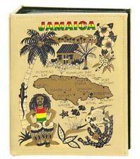 JAMAICA EMBOSSED PHOTO ALBUM 100 PHOTOS/ 4x6