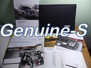2014 audi q5 sq5 owners manual mmi navigation manual set with rh ebay com 2015 audi q5 owners manual online 2015 audi q5 owners manual online