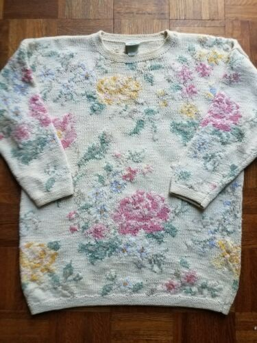 Vintage LAURA ASHLEY Floral Sweater