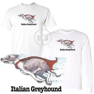 Mastiff Fun Dog Breed Cartoon Short Long Sleeve White T Shirt M-3X