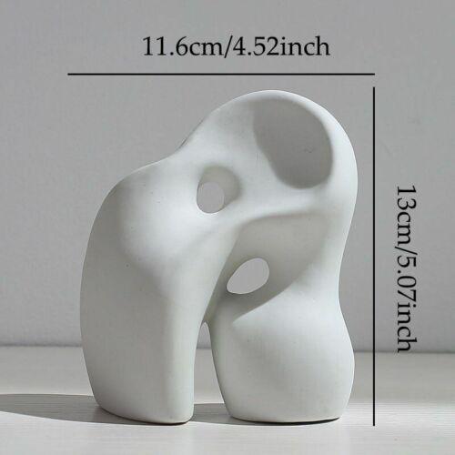 Ceramics Vase Nordic Creative Flower Pot Minimalist Abstract Home Decor Ornament