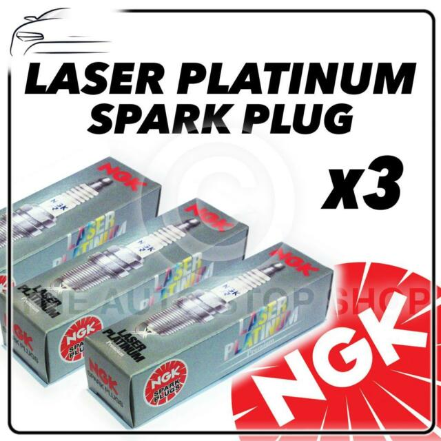 3x NGK SPARK PLUGS Part Number PLZKAR6A-11 Stock No. 5118 New Platinum SPARKPLUG