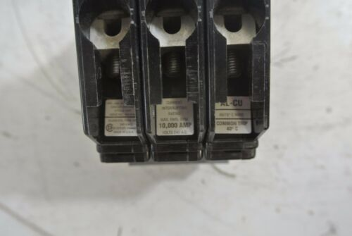 New Cutler Hammer CHB320 3 pole 20 amp bolt on 240v CHB circuit breaker