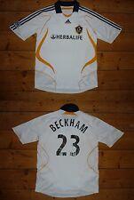 size:large LA GALAXY football shirt Los Angeles Beckham 32 Soccer Jersey Maglia
