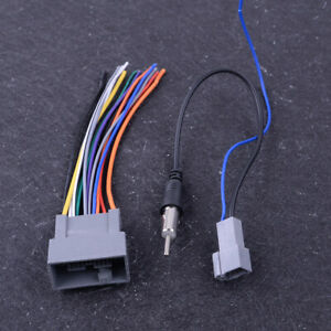 Replacement for Radio Wiring Harness for 2004 Honda CR-V EX Sport Utility 4-Door 2.4L Car Stereo Connector