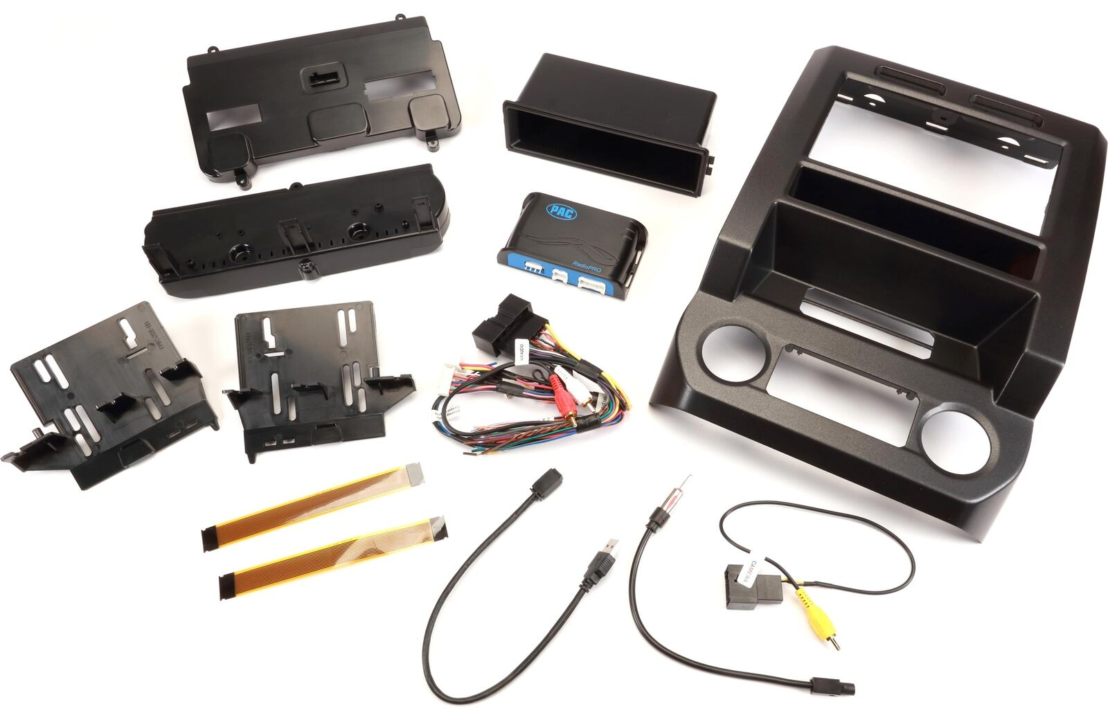 PAC RPK4-FD2201 Double DIN Dash Kit & Interface harness for Select ...