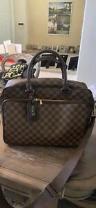 bc039564 Details about LOUIS VUITTON Damier Ebene Icare Business Briefcase Laptop  Travel Tote