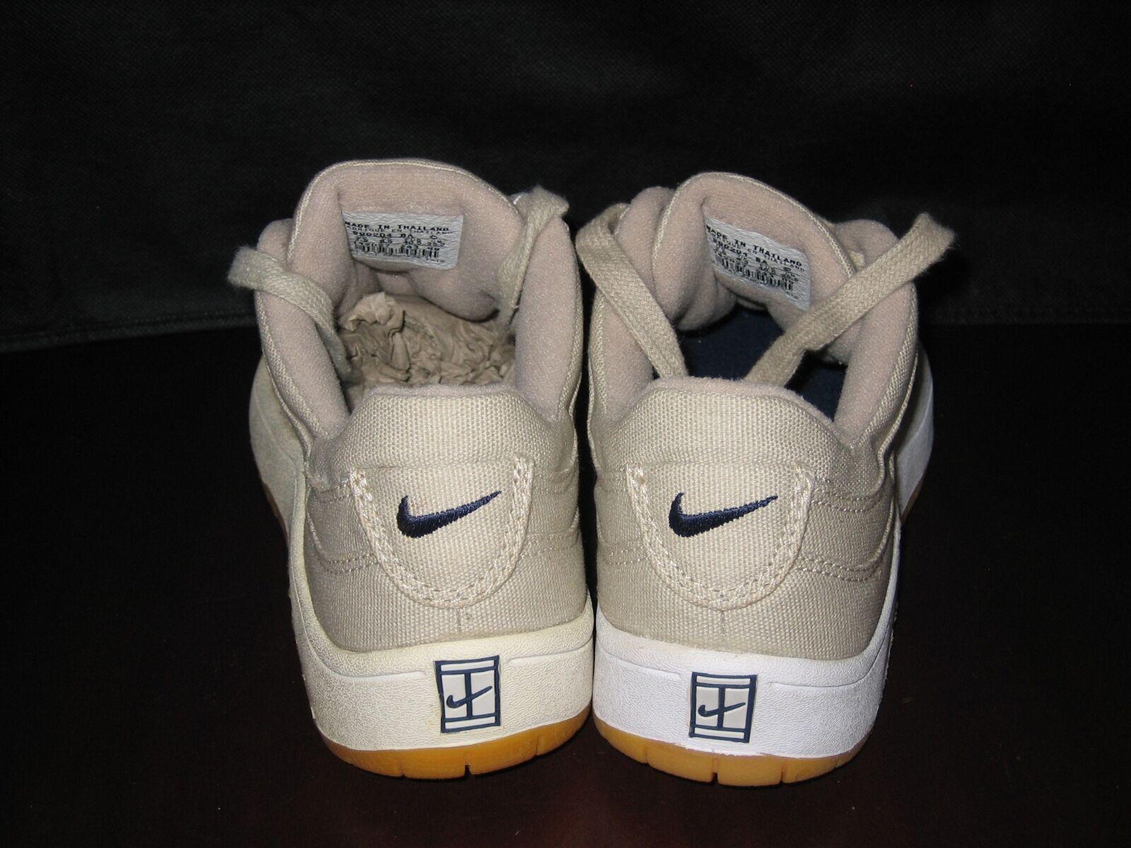 Nike Montara NOS Canvas '99 USA7,5 NIB NOS Montara vintage ORIGINAL Turnschuhe skate urban air 552987