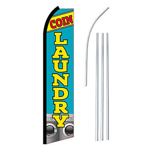 TERIYAKI Banner Sign Flag and pole Advertising Feather Flutter Swooper 2.5'