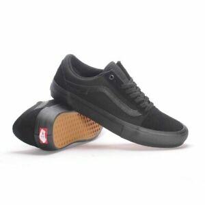 Vans Shoes Old Skool PRO Blackout USA Size Skateboard Sneakers