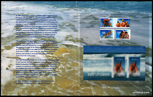 2007-Year-of-Surf-Lifesaver-Lenticular-Post-Office-Pack-Australia-Mint-Stamps