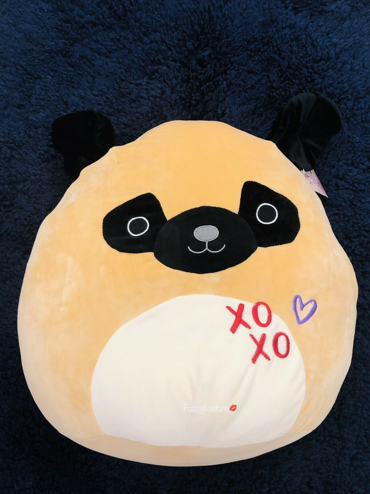 "Squishmallows Squishmallow Squishy Squooshems PAM THE PUG DOG DOG DOG 16"" 2c36c6"