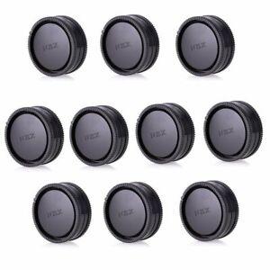 10pcs-Kamera-Body-Frontabdeckung-Rear-Lens-Cap-fuer-Sony-E-Mount-NEX-Kamera