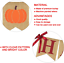 Happy Fall Burlap Banner and Autumn Pumpkins Mapl Thanksgiving Fall Decorations
