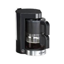 Cloer Filterkaffee-Automat 5990 Schwarz-Edelstahl Kaffeemaschine 800 W Glaskann