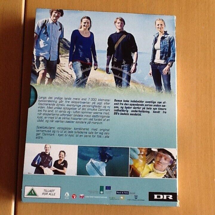 2x DANMARK KYST TIL KYST, instruktør DR1, DVD