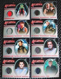 Battlestar Galactica Season 3 Costume Card CC39 Number Six