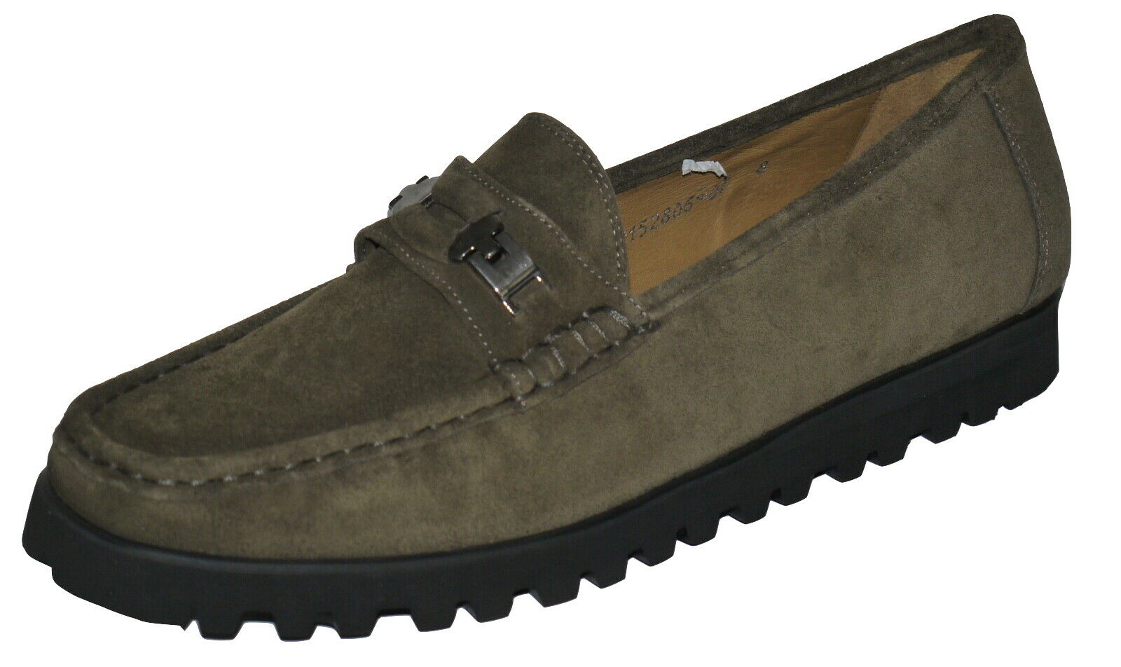 Sioux CARDA en Daim marron chaussures Mocassins Taille 8 SP