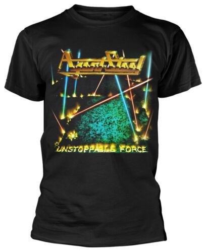 """AGENT STEEL /""""force irrépressible/"""" Noir T-shirt-NOUVEAU /& OFFICIEL!"""