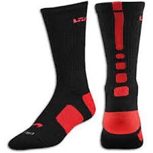 91c5765aa0fa Nike Elite Lebron Basketball Socks SX4696-062 Large (Men Size 8-12 ...