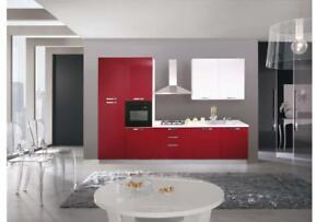 Dettagli su Pensili cucina componibile moderna ante-vasistas h72 colorati