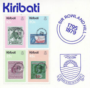 KIRIBATI-1979-ROWLAND-HILL-CENTENARY-MINIATURE-SHEET-MNH