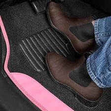 Pink Car Floor Mats 4 Pieces Set Carpet Rubber Backing All Weather Protection Fits 2003 Honda Pilot