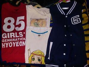 SNSD-Girls-Generation-Hyoyeon-mixed-lot-shirts-jackets-party-hoot-small-medium