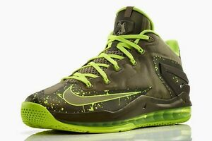 half off 33f6e 33088 Image is loading Nike-Air-Max-LeBron-11-Low-Dunkman-Basketball-