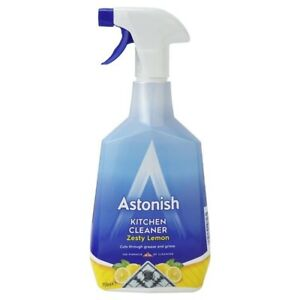 Details about 12 x Astonish Kitchen Cleaner 750ml Powerful Cleaning Grease  Removal NEW