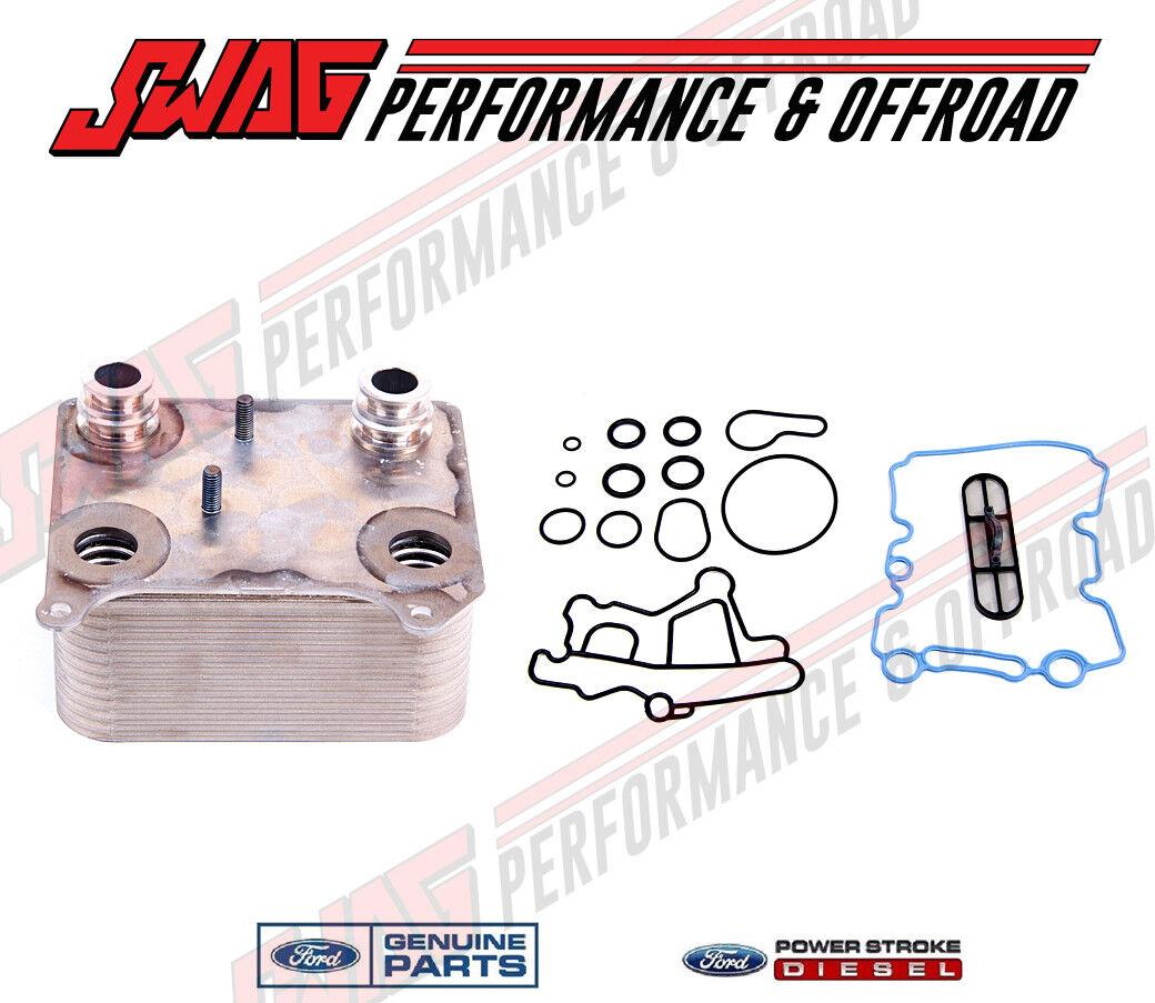Genuine Ford OEM 6.0L Powerstroke Diesel Engine Oil Cooler 3 YEAR WARRANTY