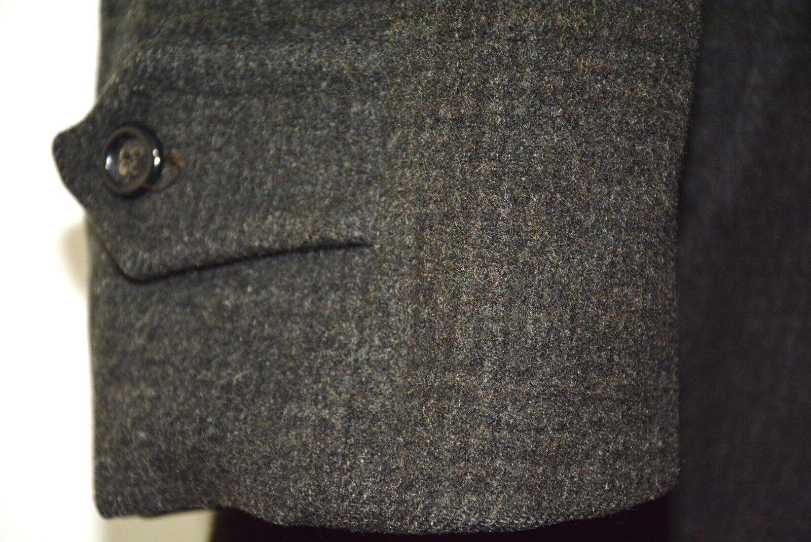 Uomo's Ringspun Giacca in pelle MARRONE piccolo EU46 RRP   RRP Cuir Pelle Vintage 536696