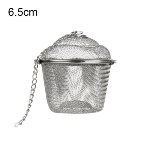 Steeper Diffuser Tea Ball Strainer Mesh Stainless Steel Clip Infuser Filter