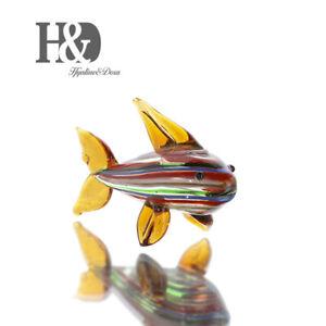 Hand-Blown-Glass-Ornament-Cute-Mini-Animals-Art-Figurine-Collection-Home-Decor