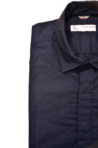 Poggianti 1958 S 503 Bcf82 Rrp Shirt Men's £185 Long Grifo Sleeve 07sl Size drrng0Z
