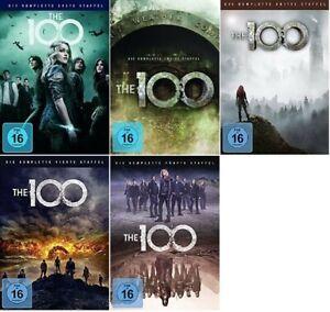 The 100 Staffel 1-5 (1+2+3+4+5, 1 bis 5) DVD Set Neu und Originalverpackt