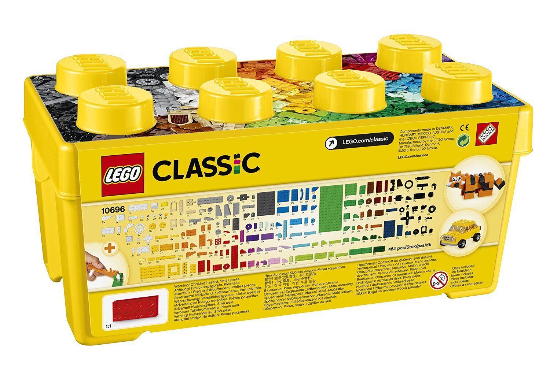 Lego Classic Schachtel Kreative 35 Farben Größe Größe Größe Mittlere Set Kind Mädchen 1fa1cf