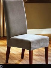 Sure Fit Stretch Pique Dining Room Chair Slipcover Taupe D5210 | eBay