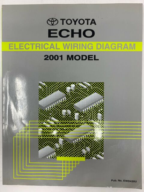 2001 Toyota Echo Electrical Wiring Diagram Repair Manual