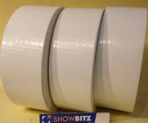Gaffa-WHITE-GLOSS-Gaffer-duct-Tape-50mm-X-50m-MAGTAPE-Easy-Eco-X-3