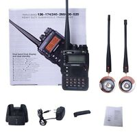 Rw-uv8dr Tri-band 144/220/444 Ht Hp Transceiver Ham/gmrs/murs Actual Us Dealer