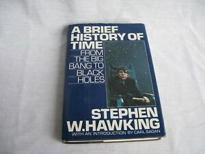 A-Brief-History-of-Time-By-Stephen-Hawking-1st-edition-Hardcover-VG-Condition