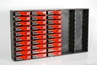 Pro Mini Dv 50 Video Tape Storage Rack For Jvc Gr Df550 Dv500 Dv800 Dv2000u Dv30