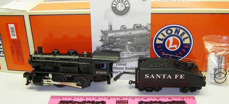 New Lionel 6-28661 Santa Fe 0-4-0 Switcher