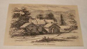 1880-magazine-engraving-NORWEGIAN-HOUSES-IN-GULDBRANDSDAL