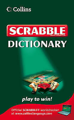 Collins Scrabble Dictionary by HarperCollins Publishers (Paperback, 2008)