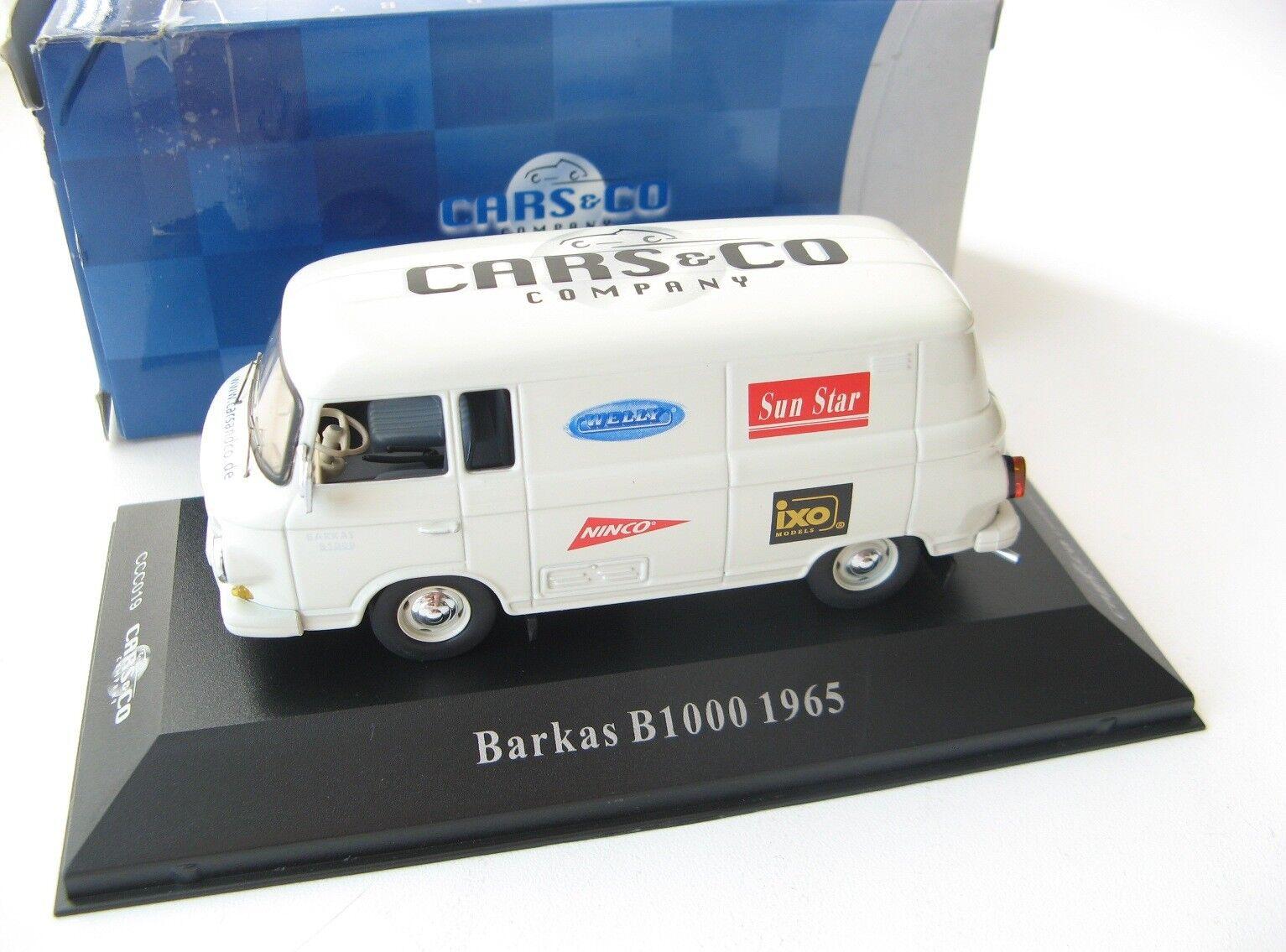 BARKAS B1000 van 1965 1 43 CARS&CO Lim. 350 pcs. RARE