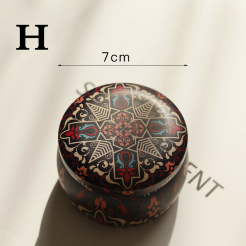 8 Styles Decor Aromatherapy Scented Candle Fragrance Soy Wax Natural Tin Travel