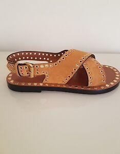 isabel marant suede sandals