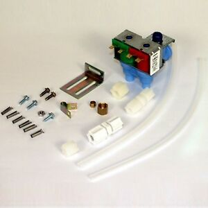 Ice Maker Water Valve Kit Whirlpool Icemaker Refrigerator